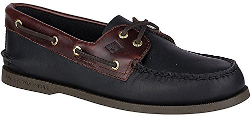 Sperry Men's 191486 Boat Shoe, Black Amaretto, 15 M US