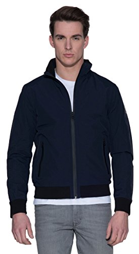 Klein Calvin Blu Jeans Blue Giubbotto Omaba Navy zHx5Czqw