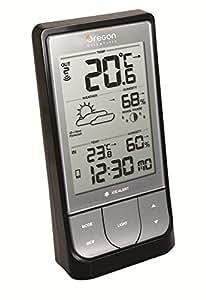 Oregon Scientific BAR-218-HG - Estación meteorológica con Bluetooth, compatible con App Weather & Home, color gris