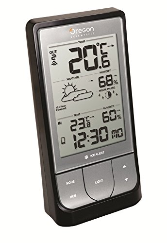 Oregon Scientific - BAR218HG - Weather@Home Bluetooth-enable
