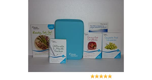 weight watchers deluxe member kit points plus 2011 new limited edition curved case