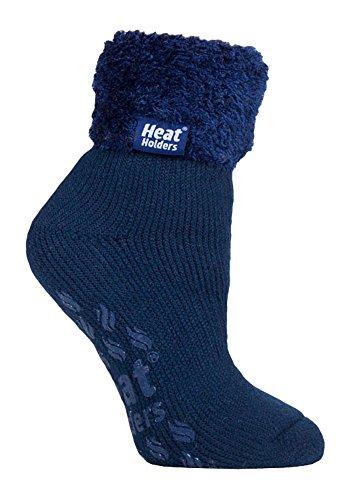 a5e9b846b925f Heat Holders - Ladies Super Soft Thermal Lounge Slipper Bed Socks, 5-9 US