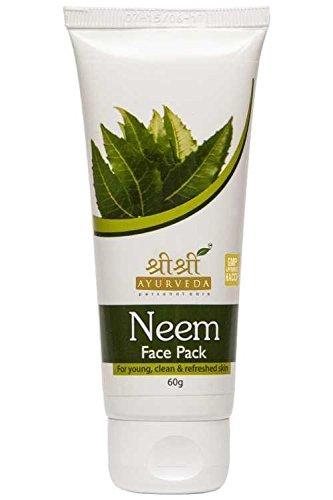 Sri Sri Ayurveda Neem Face Pack Prevent Skin Diseases Keep Your Skin Soft by Sri Sri Ayurveda