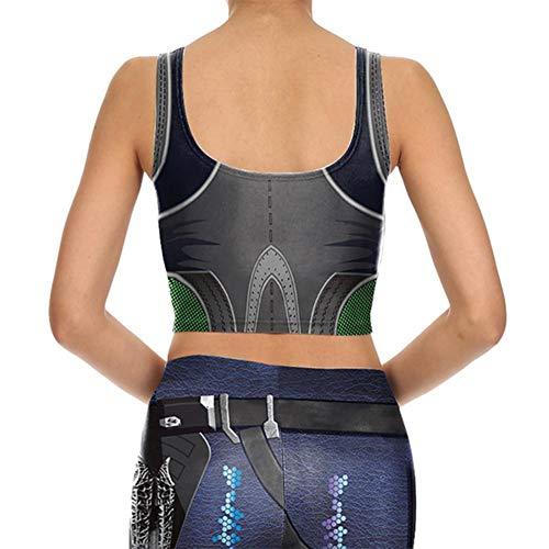 Femme Ensemble Vêtements Pour Fitness Bra3 Trendyest Et De À Numérique Impression Yoga gnaavB