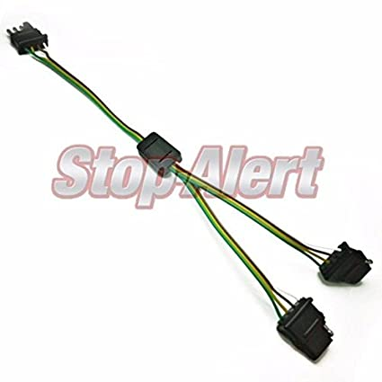 Wire Trailer Harness Splitter on 4 wire plug connector, three wire trailer harness, 7 wire trailer harness, five wire trailer harness, 6 wire trailer harness, wiring harness,