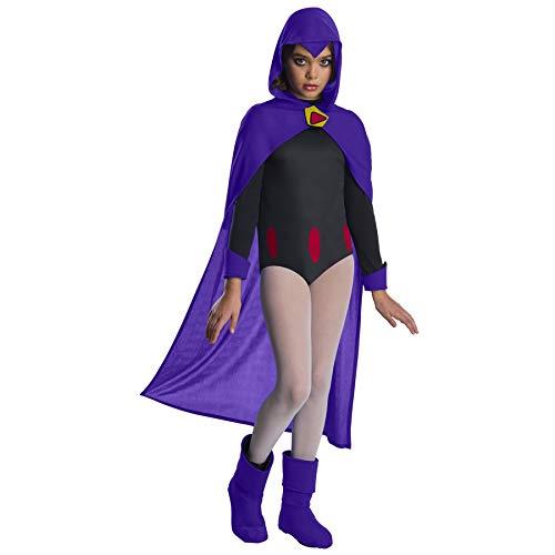 Teen Titans Go Movie Costume Deluxe Raven, Medium]()