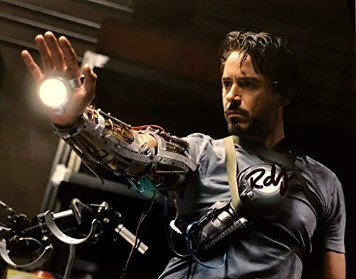 ROBRTY DOWNEY JR. AUTOGRAPHED Hand SIGNED 11x14 Photo IRON MAN Tony Stark -
