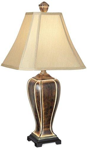 Desert Crackle Transitional Table Lamp