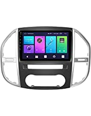 Android 10.0 Auto Stereo 2 Din Head Unit voor Mercedes Benz Vito 2016-2019 GPS Navigatie 10 Inch Touchscreen MP5 Multimedia speler Radio Video Ontvanger met 4G WIFI DSP