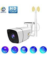 JOOAN Wireless Home Security Camera, WiFi IP Surveillance Camera System with Super Night Vision,Motion Detection,Waterproof for Indoor Outdoor Bullet Camera