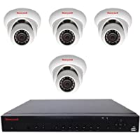 HEN04111EB - H.264 1080p 4CH NVR 1TB AND 4 pcs H.264 1080p IR BALL Cameras by Honeywell Video
