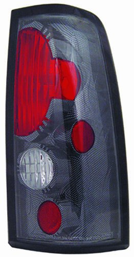 IPCW CWT-CE337CF Crystal Eyes Carbon Fiber Tail Lamp - Pair - Eye Tail Light Carbon Fiber