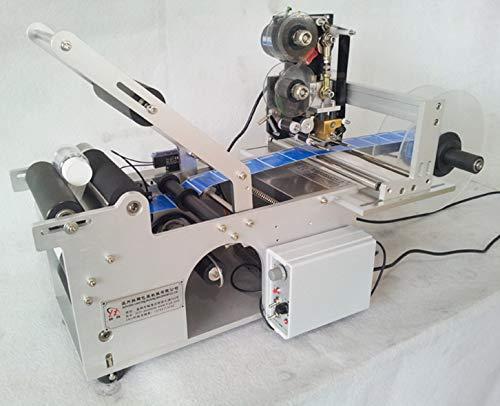 TX Semi - Aplicadores de etiquetas automáticas, 20 – 50 unidades por minuto, máquina de etiquetar con impresora de fecha...