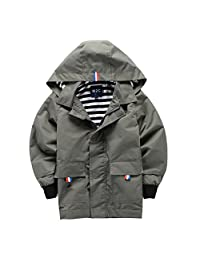 M2C Boys Raincoat Hooded Jacket Outdoor Light Windbreaker