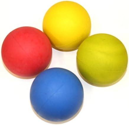 Hyfive Perro Brillante obteniendo Pelotas de Goma rebotando Flotante para la formación de los Colores Mezclados, Paquete de 4: Amazon.es: Productos para mascotas