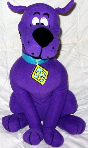 Amazon Com Scooby Doo Collectible Purple Plush By Toyfactory Toys