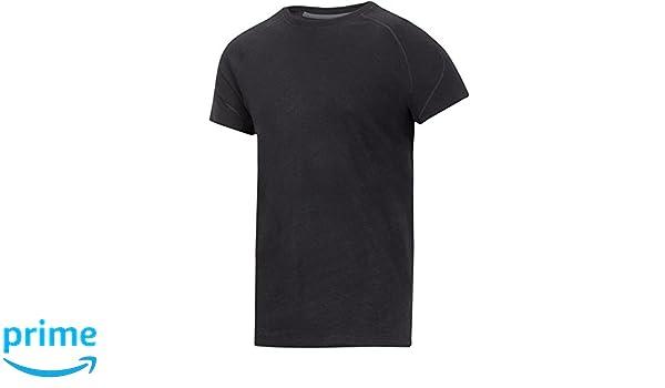 Snickers Workwear 9417 Camiseta Negro 6: Amazon.es: Bricolaje y herramientas