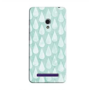 Cover It Up - Cyan Pale Drops Zenfone 6 Hard case