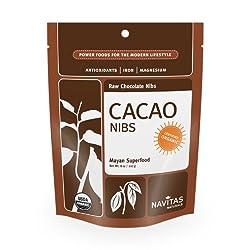 Navitas Naturals Cacao Nibs, 8-Ounce Pouches