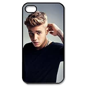 Custom High Quality WUCHAOGUI Phone case Singer Prince Justin Bieber Protective Case For Iphone 4 4S case cover - Case-17