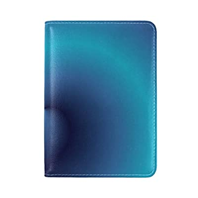 Passport Case Sea Turtles On Blu Passport Holder Cover Case PU Leather Travel One Pocket For Men /& Women