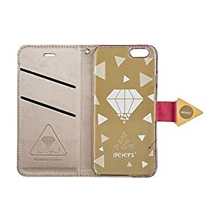QYF Luxury Diamond PU Leather Full Body Case With Card Slot with Stand and Strap for iPhone 6 (Assorted Color) , Purple