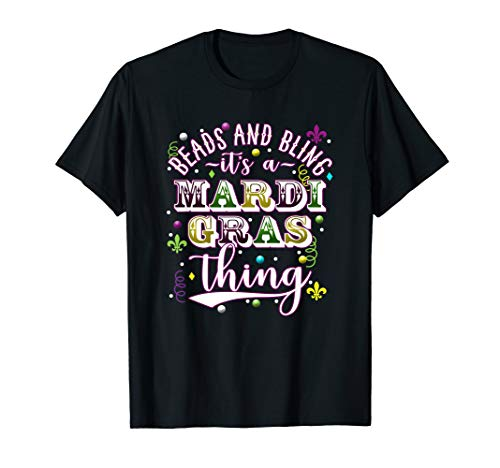 Hot Mardi Gras Girls (Hot Mardi Gras Shirt Beads And Bling Its A Mardi Gras)