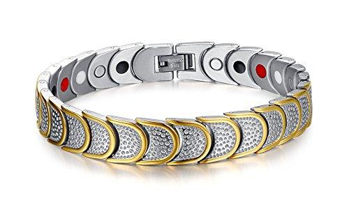 Titanium Magnetic Therapy Bracelet Relief