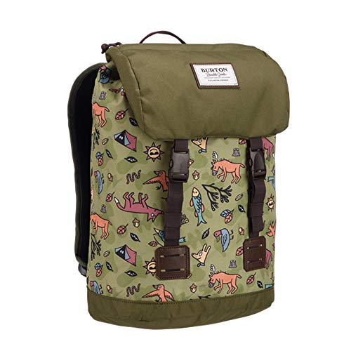 Burton Kids Unisex Tinder Backpack (Little Kid/Big Kid) Campsite Critters Print One Size