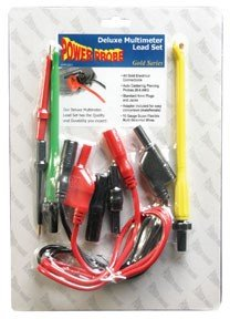 Deluxe Multimeter Lead Set - Wire Piercing Test Lead Adapters