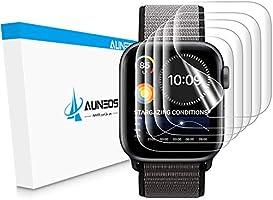 『2020年春改良』AUNEOS Apple Watch Series6 / Apple Watch Series SE Series5/4 40mm Series2/3 38mmフィルム 「独創位置付け設計」 今年最先端TPU材...