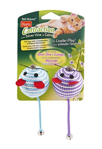 Hartz Cattraction Silver Vine & Catnip Cat Toys