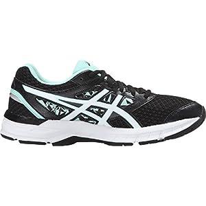 ASICS Women's Gel-Excite 4 Running Shoe, Black/White/Mint, 8 M US