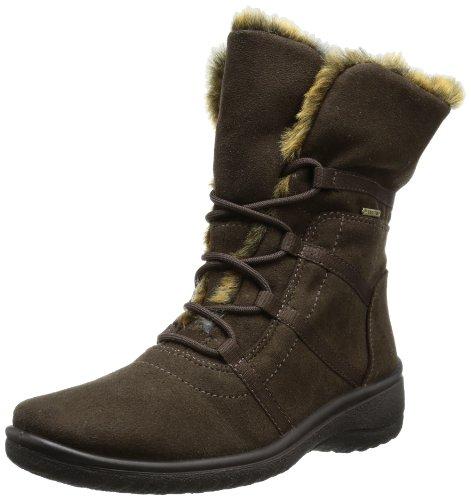 Suede Womens Boots Gore ST Tex Braun Munchen 48523 12 Ara Bdp6PqUU