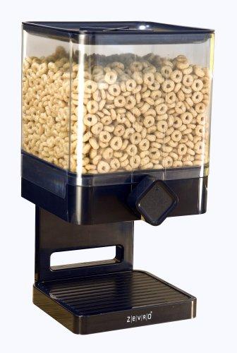 ZevrO PROZ – Dispensador único Indispensable dispensador de espacio Smart Edition – Negro
