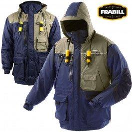 Frabill Ice I4 Jacket, Dark Blue, Small