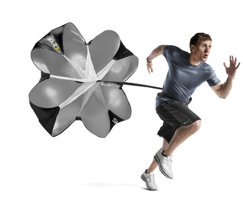 SKLZ Original Speed Chute. Resistance Sprint Training Parachute w/ 54