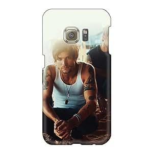 NataliaKrause Samsung Galaxy S6 Shock-Absorbing Hard Phone Cover Provide Private Custom Nice Boys Like Girls Band Pattern [tru10658SWiF]