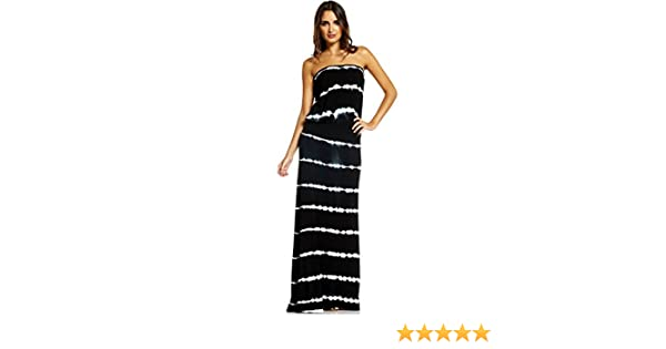52dd0738f1b3 Elan International Strapless Maxi Dress at Amazon Women's Clothing store: