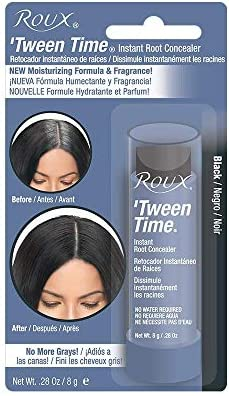 ROUX Tween Time Instant Haircolor Touch-Up Stick BLACK 1/3 oz/10g by Roux