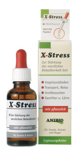 Anibio X-Stress 30ml Ergänzungsfutter für Hunde und Katzen, 1er Pack (1 x 0.03 kg)