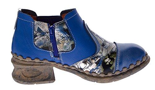 à basse Chaussures femme tige Bleu TMA U7TanqWn