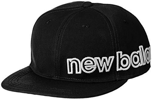 [ニューバランス ゴルフ] [メンズ] 吸汗速乾 フラットブリム キャップ (サイズアジャスター機能 58cm) ゴルフ 帽子 012-8287003