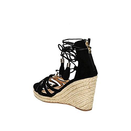 King Sandalettes Noir King Shoes Noir Shoes Femme Femme Sandalettes Femme Shoes Sandalettes King rnxrZIq41