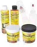 liquid wood filler - Abatron Wrk60r Wood Restoration Kit, 24 Oz