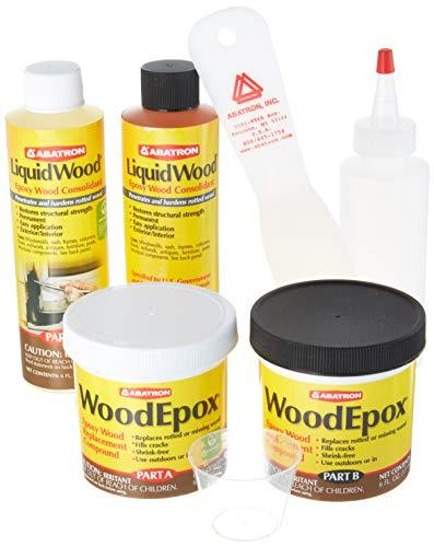 - Abatron Wrk60r Wood Restoration Kit, 24 Oz