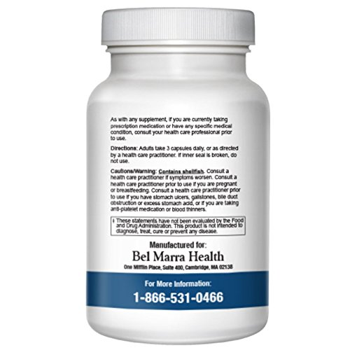 Bel Marra Health Healthy Joints Supplement - Glucosamine, Chondrotin sulfate, Turmeric extract - Relieves Discomfort, Improves Mobility – 1080 Capsules