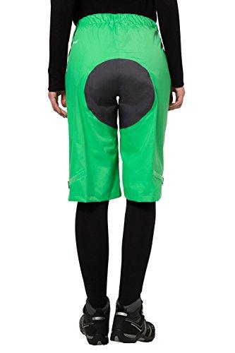 Vaude Tiak Short pour femme 42 Vert - Vert sauterelle