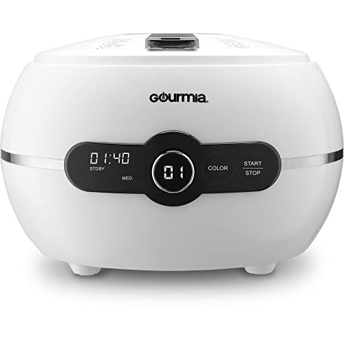 Gourmia - GCM3150 - One touch automatic cake and bake mixer Pro - 2LB - Digital LED Control Panel With 13 Baking Functions - Removable Bundt Baking Pan & Lid, Bonus Accessories & Free Recipe Book