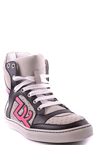Dsquared2 Damen Mcbi107106o Multicolour Wildleder Hi Top Sneakers